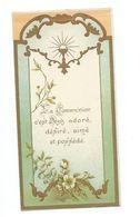 IMAGE PIEUSE....Communion De Romain Et Paul POTEZ, Eglise LES ATTAQUES (62), En 1916 - Devotion Images