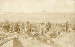 CIMETIÈRE MILITAIRE (guerre 1914/18) - Quedlinbourg Allemagne,carte Photo. - Weltkrieg 1914-18