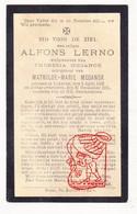 DP Alfons Lerno ° Lokeren 1862 † 1915 X Theresia Xx Mathilde Maganck - Devotion Images