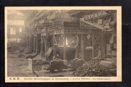 14 Mondeville Colombelles Caen / S.M.N. Société Métallurgique De Normandie / Aciéries Thomas,les Convertisseurs - Francia