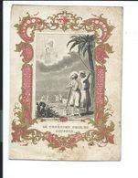 IMAGE PIEUSE De 1865... LE CHRETIEN Prie Et Souffre.. - Devotion Images