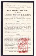 DP Laurent Norbert Lerno ° Lokeren 1864 † Gent 1933 - Devotion Images