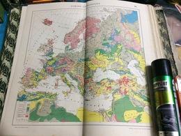 CARTE GÉOGRAPHIQUE- EUROPE GEOLOGIQUE - Carte Geographique