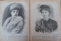 Journal Des Voyages 1878N°79: SAHARA ASSASSINAT DOURNAUX-DUPERE ET JOUBERT/DEPART TOUR DU MONDE DUMONT D'URVILLE - Newspapers