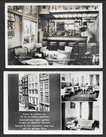 "AMSTERDAM - Hotel Restaurant "" HET WAPEN VAN FRIESLAND ""  - 2 Cartes -  Format Cpa - Amsterdam"