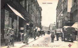 Carte Postale Ancienne De PARIS III°  &  IV° - Arrondissement: 03