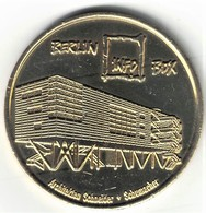 Monnaie De Paris. Allemagne - Berlin - Globe Taler Schneider Et Schumacher 1996 Info Box - Monnaie De Paris