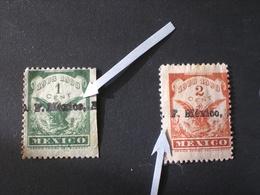 MESSICO MEXICO MEXIQUE Мексика 1908 TAX TAXE OVERPRINT MNG - MH - Mexico