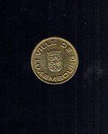 """Jeton """"Bon Pour Parking"""" Ville De Luxembourg - Tokens & Medals"""