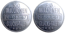 02216 GETTONE TOKEN JETON CANADA ADVERTISING GLUCKS TALER 5,0 MILLIONEN - Allemagne