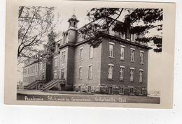 VICTORIAVILLE, Quebec, Canada, Acadamie St, Louis De Gonzague, Old RPPC - Quebec