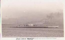 Sous Marin   121          Sous Marin Morse - Sous-marins