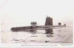 Sous Marin   149          Sous Marin  Eurydice - Sous-marins