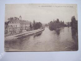 16 ANGOULEME Vue Prise Du Pont St Cybard 1917 T.B.E. - Angouleme
