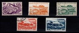 5 Moyennes Valeurs Oblitérées, Cote 22 Eur - St.Pierre Et Miquelon
