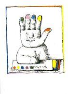 C I C P C  ILLUSTRATION  ANDRE FRANCOIS  2004  CPM CARTE DE MEMBRE TIRAGE 500 EX - Collector Fairs & Bourses