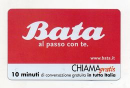 Telecom - Scheda Chiama Gratis - 2004 - BATA - 10 Minuti Di Conversazione Gratuita - NUOVA -(FDC7780) - Italy