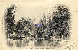 77 - Montigny-sur-Loing - Vue Sur Le Loing - 1904 - Autres Communes