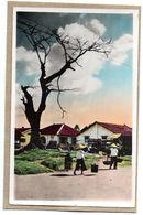 SUD VIETNAM - SAIGON - UN QUARTIER PITTORESQUE - ANIMEE - 1953 - Vietnam