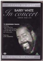 DVD Barry White Etat: TTB Port 110 Gr Ou 30gr - Concert & Music