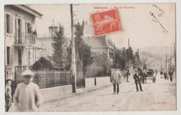 CPA 25 SELONCOURT Rue Du Tramway - Otros Municipios