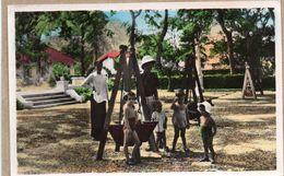 SUD VIETNAM - SAIGON - JARDIN D'ENFANTS - ANIMEE - 1953 - Vietnam