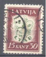 Lettonie: Yvert N° 168A - Lettland