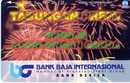 INDONESIA INDONESIEN  INDONESIE - IND P 431- P434 Bank Baja International 5.000ex. F- MINT RRR - Indonesia