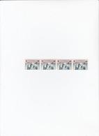 SERIE 4 TIMBRES SURCHARGE 0.05 MNH** LIGUE INTERNATIONALE DES SOCIETES DE LA CROIX-ROUGE  / 6201 - Rotes Kreuz