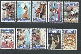 MALI Scott 704-713 Yvert 726-735 (10) ** Cote 12,50$ 1995 - Mali (1959-...)