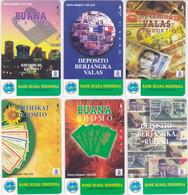 INDONESIA INDONESIEN  INDONESIE - IND P 438 ..443 - P 439..444  Bank Buana Indonesia  - MINT RRR - Indonesia