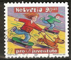 Zu J 371 PRO JUVENTUTE 2003 Obl. ERISWIL 27.12.03 SBK 4,30 - Pro Juventute