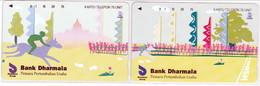 INDONESIA INDONESIEN  INDONESIE - IND P 446 ..447 - P 450..451  Bank Dharmala 5 E 6- 5.000ex.  - MINT RRR - Indonesia