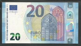 """MC"" 20 EURO Bank Note GEM UNC!! Draghi Signature ! New Issue! Printer M003A6 - EURO"