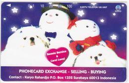 INDONESIA INDONESIEN  INDONESIE - IND P 450- P 462 Phonecard Excange Bonnie And Carel 1000ex. - MINT RRR - Indonesia