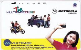 INDONESIA INDONESIEN  INDONESIE - IND P 452- P 453 Multipage Motorola  5000ex.- MINT RRR - Indonesia