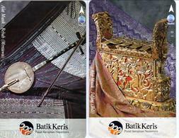 INDONESIA INDONESIEN  INDONESIE - IND P 460..461- P 463..464  Batik Keris 1000ex..- MINT RRR - Indonesia