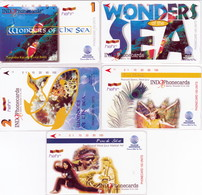 INDONESIA INDONESIEN  INDONESIE - IND P 466 ..470 - P 471..475 Indo-Phonecards 96- 1000ex.- MINT RRR - Indonesia