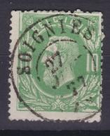 N° 30  SOIGNIES  Double Cercle  COBA +4.00 - 1869-1883 Léopold II