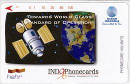 INDONESIA INDONESIEN  INDONESIE - IND P 473- P 476  INDO-Phonecards 96 - 1.000ex.- MINT RRR - Indonesia