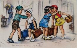 CARTE POSTALE ANCIENNE GERMAINE BOURET - ENFANTS - 1939 - Bouret, Germaine