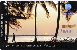 INDONESIA INDONESIEN  INDONESIE - IND P 477- P 481  INDO-Phonecards 96 - 1.000ex.- MINT RRR - Indonesia