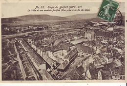 Cpa Siège De Belfort - Belfort – Siège De Belfort