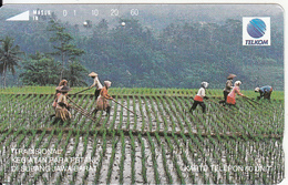 INDONESIA - Kegiatan Petani Para/Subang, 11/93, Used - Indonesia