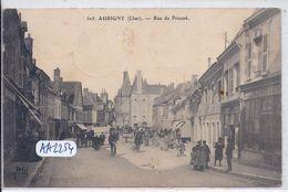 AUBIGNY- RUE DU PRIEURE - Aubigny Sur Nere