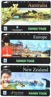 INDONESIA INDONESIEN  INDONESIE - IND P 486..488 -P 489..491 Panen Tour 1.000ex. - MINT RRR - Indonesia