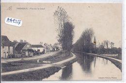 THENIOUX- VUE SUR LE CANAL - Frankrijk