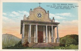 Idaho Coeur D'Alene The Old Mission Curteich - Coeur D'Alene
