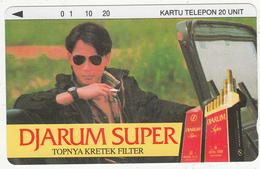 INDONESIA - Djarum Super, Tirage 5000, 05/93, Used - Indonesia