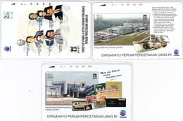 INDONESIA INDONESIEN  INDONESIE - IND P 491..493 -P494..496 Perum Peruri Set -1000ex.- MINT RRR - Indonesia